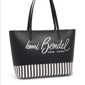New Black About Town Tote
